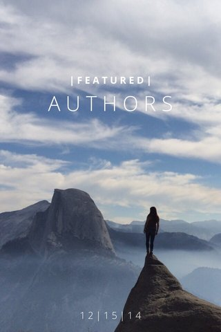 AUTHORS 12|15|14 |FEATURED|