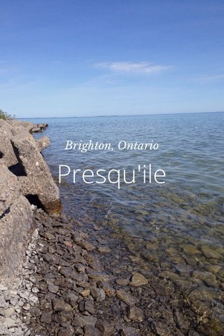 Presqu'ile Brighton, Ontario