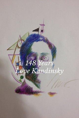 148 Years Love Kandinsky