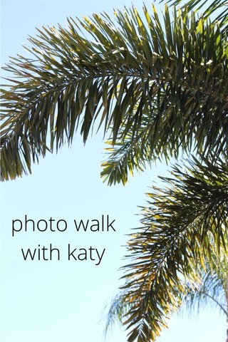 photo walk with katy