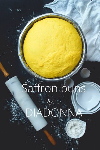 Saffron buns DIADONNA by