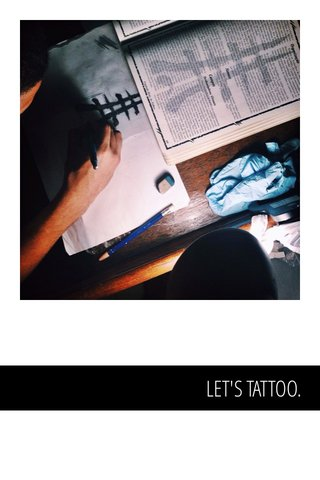 LET'S TATTOO.