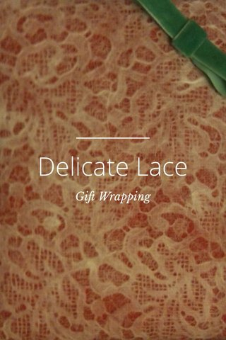 Delicate Lace Gift Wrapping