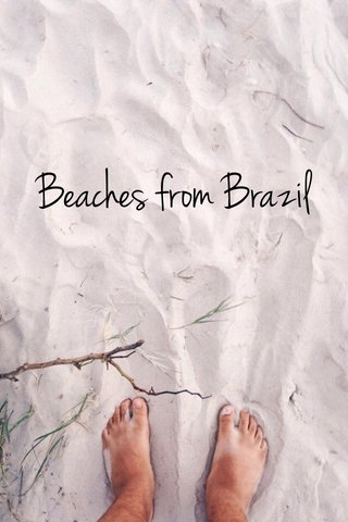 Beaches from Brazil