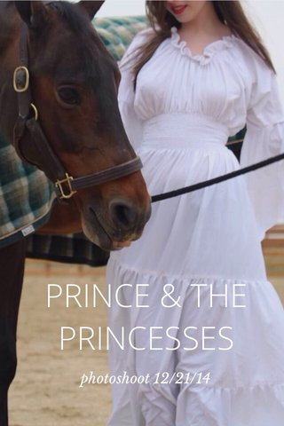 PRINCE & THE PRINCESSES photoshoot 12/21/14