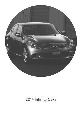 2014 Infinity G37s