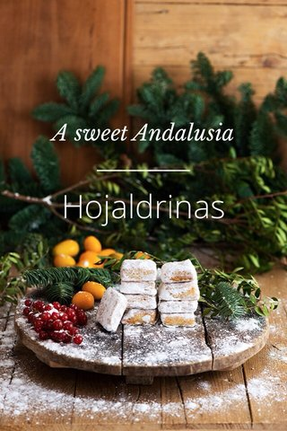 Hojaldrinas A sweet Andalusia