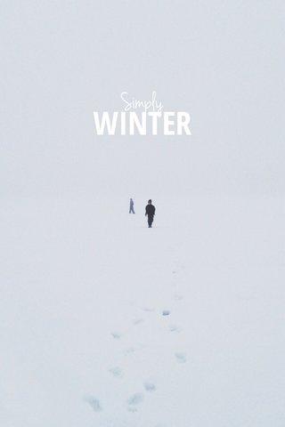 WINTER Simply