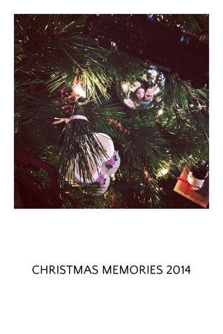 CHRISTMAS MEMORIES 2014