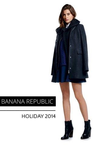 BANANA REPUBLIC HOLIDAY 2014