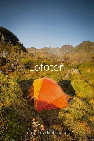 Lofoten a trip of a lifetime. pt 2