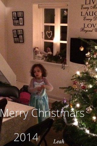 2014 Merry Christmars Leah