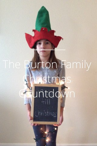 The Burton Family Christmas Countdown
