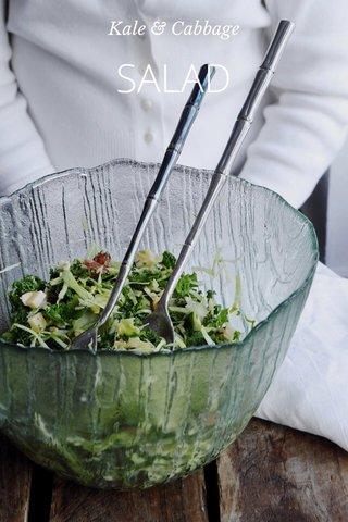 SALAD Kale & Cabbage