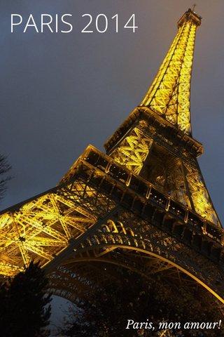 PARIS 2014 Paris, mon amour!