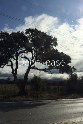Deer Lease