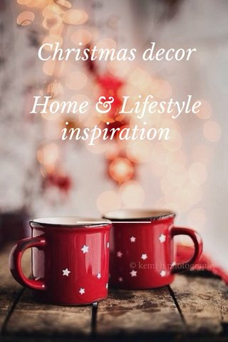 Christmas decor Home & Lifestyle inspiration