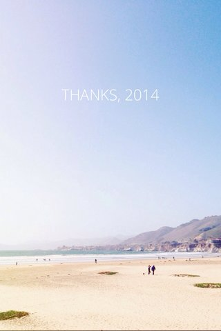THANKS, 2014