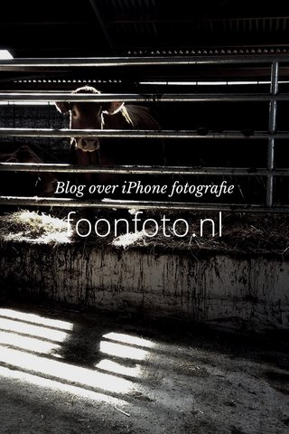 foonfoto.nl Blog over iPhone fotografie