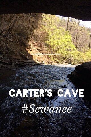 #Sewanee Carter's Cave