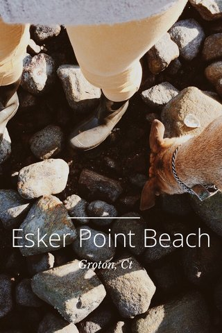Esker Point Beach Groton, Ct