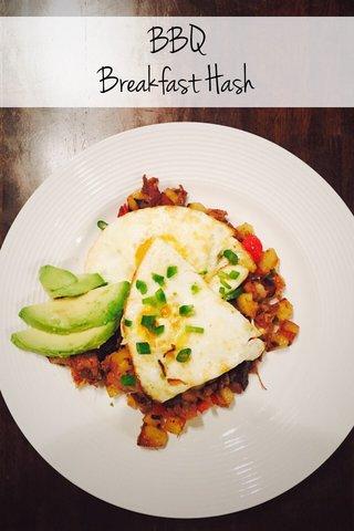 BBQ Breakfast Hash