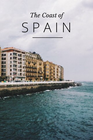 SPAIN The Coast of