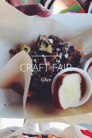 CRAFT FAIR Ghee