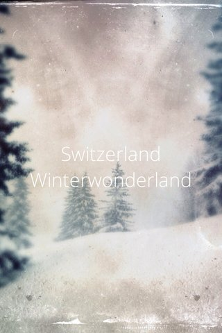 Switzerland Winterwonderland