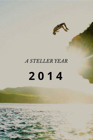 2014 A STELLER YEAR