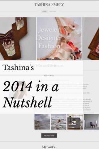 2014 in a Nutshell Tashina's