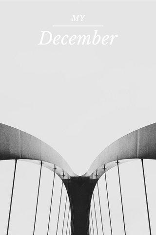 December MY