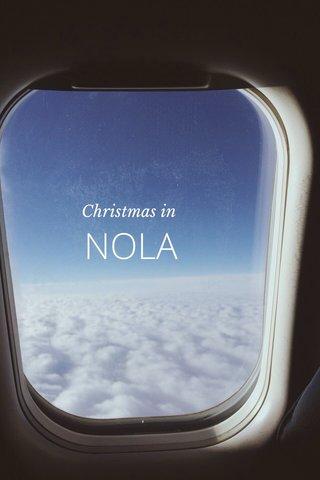 NOLA Christmas in