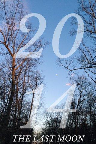 2014 THE LAST MOON