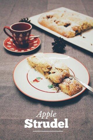 Strudel Apple