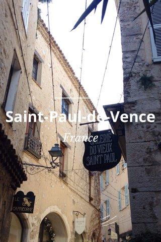 Saint-Paul-de-Vence France