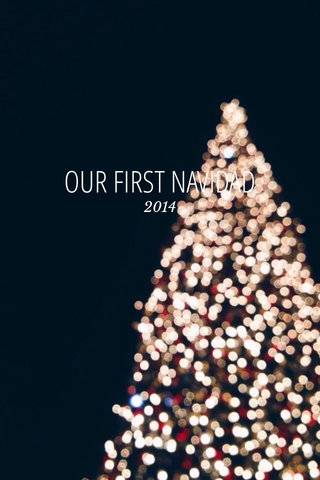 OUR FIRST NAVIDAD 2014