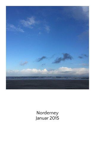 Norderney Januar 2015