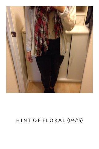 H I N T O F F L O R A L (1/4/15)