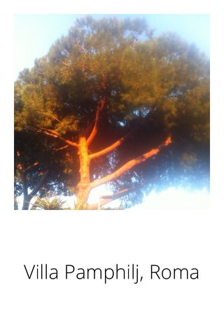 Villa Pamphilj, Roma