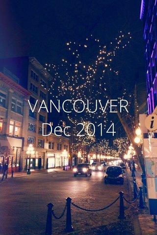 VANCOUVER Dec 2014