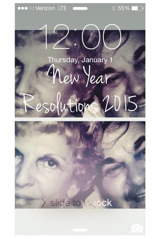 New Year Resolutions 2015