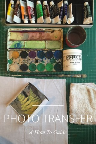 PHOTO TRANSFER A How To Guide