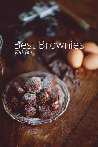 Best Brownies Kuisine