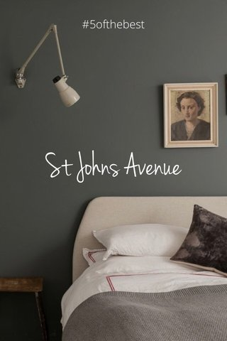St Johns Avenue #5ofthebest