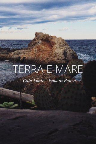 TERRA E MARE Cala Fonte - Isola di Ponza