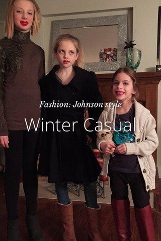 Winter Casual Fashion: Johnson style