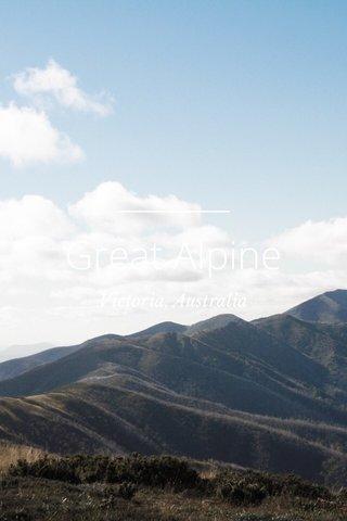 Great Alpine Victoria, Australia