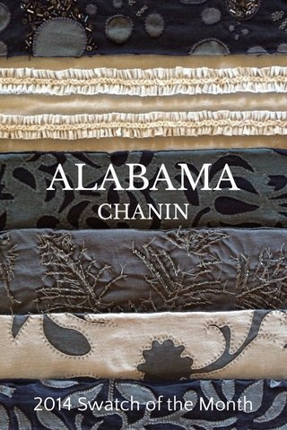ALABAMA CHANIN 2014 Swatch of the Month