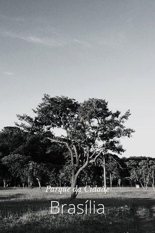 Brasília Parque da Cidade
